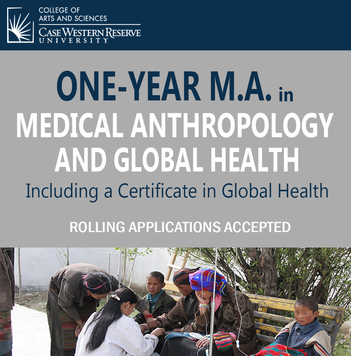 Exciting New 1 Yr Ma In Medical Anthropology And Global Health